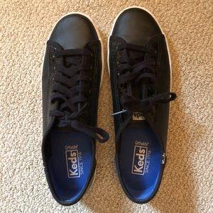 Keds black retro sneakers